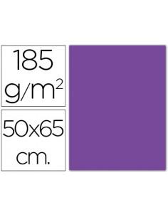 Cartulina guarro violeta...