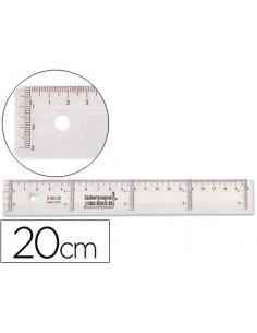 Regla liderpapel 20 cm...