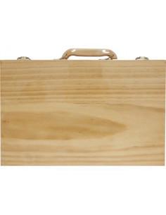 Estuche madera vacio