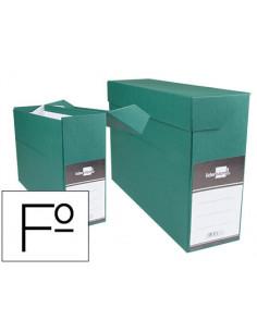 Caja transferencia folio verde