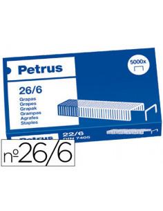 Grapas petrus nº 26/6 -caja...