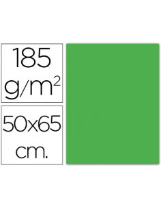 Cartulina guarro verde...