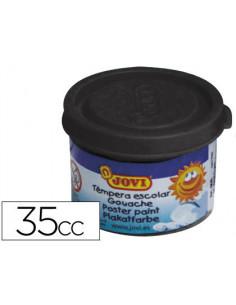 Tempera jovi 35 ml negro
