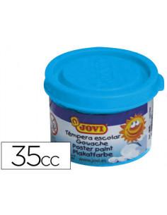 Tempera jovi 35 ml azul cyan