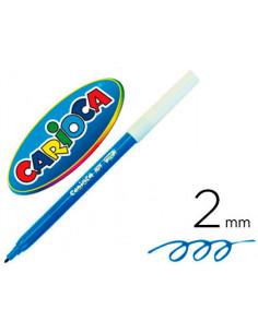 Rotulador carioca unidad azul
