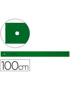 Regla faber 100 cm plastico...