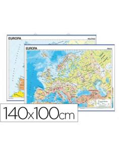 Mapa mural europa...
