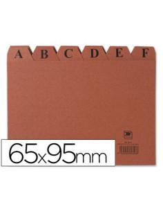 Indice fichero carton -nº 1...