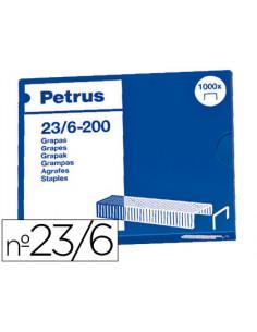 Grapas petrus nº 23/6 -caja...