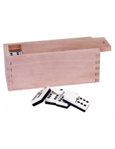 Domino master caja madera