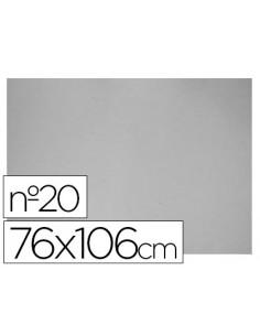 Carton gris nº 20 76x106 cm...